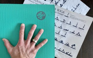 Spickzettel Mysore Yoga